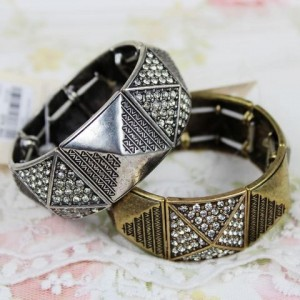 Hot Style Diamond Stretch Bracelet1
