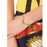 V Shaped Gold Chain Bracelet1